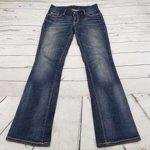 Seven 7 Jeans Size 6 Boot Cut Womens Blue Denim